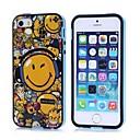 Улыбающиеся лица Pattern задняя крышка чехол для iPhone4 / 4S
