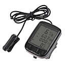 Bike Computer,Waterproof LCD Cycling Bike Bicycle Computer Odometer Speedometer 24 Functions