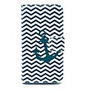 The Wave and Anchor Pattern Plastic Hard Case for Motorala Moto G