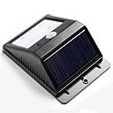 4 Bright LED Wireless Solar Powered Motion Sensor Wall Lamp