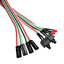 Chassis Switch Line To Restart The Line Box Reset Line POWER RESET Button With LED