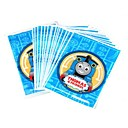 Cartoon Locomotive Pattern Advanced And Novel Environmental Plastic Bag(20pcs)
