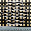 manik perler (besar bentuk heksagon akrilik telus acuan) (1 pc)