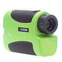 Portable Laser Rangefinder Distance Meter 6X Telescope Golf Hiking Hunting (5-900M,1M)