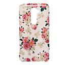 Beautiful Peony Pattern Silicone Soft Case for LG G2