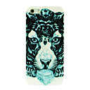 Flower Lion Pattern Hard Case for iPhone 4/4S