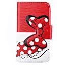 Черепаха Pattern Bowknot пряжка PU кожаный чехол для всего тела для iPhone 4 / 4S