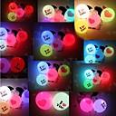 День 5psc Святого Валентина воздушный шар освещения, Я ЛЮБЛЮ ТЕБЯ LED Световой шар с гигантским сердцем (Random Color)