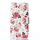 Белый цветок шаблон PU кожаный чехол для всего тела с картой и ПОВ чехол для Nokia Lumia 830