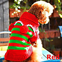 Dog Sweater Red Winter Christmas Christmas