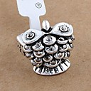 Мода Ретро Rhinestone Сова кольца произвольного размера