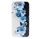 Синий цветочный дизайн мягкий чехол для iPhone 6