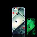 Покер шаблон светятся в темноте чехол для iPhone Обложка 6