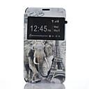 Магия Паук Эскиз искусственная кожа Смарт Окно просмотра Полный Дело Тело Стенд с экрана протектор для Sony Xperia E4G