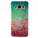 Слива Blossom шаблон ТПУ Мягкий чехол для Samsung Galaxy A5