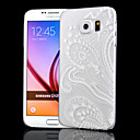 Прозрачный Рельефные ремесла Полые Настенная роспись Печать ПК Скраб Материал Телефон чехол для Samsung Galaxy S6