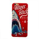 Дело английский Синий кит чувствовать тонкие ТПУ для Iphone 6