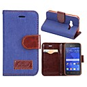 New Full Body Cases PU Leather Flip Cover Phone Protective Case with Stand for Samsung Galaxy Ace 4 G313