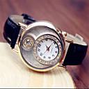 banda de las mujeres del diamante del reloj de lujo de la PU (colores surtidos)