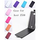Флип кожаный магнитный защитный чехол для Acer Liquid Z530 / Z530S (разных цветов)