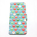 Multi Owl Painted PU Phone Case for iphone 6 plus/6S plus