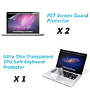 Ultra Thin Transparent TPU Soft Keyboard Protector Cover  Protective Clear Screen Guard for 13.3