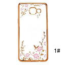 Secret Garden Series TPU Phone Shell Plating for Samsung Galaxy A5/A7/A8/A9/A310/A510/A710