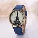 Herren Beobachten Quartz Kleideruhr Armbanduhren für den Alltag Stoff Band Armbanduhr