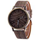 Herren Beobachten Quartz Kleideruhr Armbanduhren für den Alltag Leder Band Armbanduhr