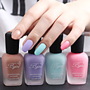 3pcs 16ml Fragrance Frosted Matte Nail Polish Random Color