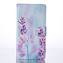 Lavender Painted PU Phone Case for Huawei P9/P9lite