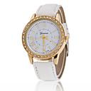 Ladies' Wrist Watch Geneva Bilateral Ms. Quartz Watch Diamond Belt(Assorted Colors)