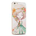 Kakashi fiore serie della principessa pittura TPU custodia morbida per iPhone 6S / 6 / 6S plus / 6 più (bignonia grandiflora)
