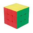 Cubi magici IQ Cube magic Cube Tre strati Velocità Smooth Cube Velocità Magic Cube di puzzle Giallo ABS