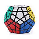 Shengshou® Magische Würfel Megaminx Glatte Geschwindigkeits-Würfel Schwarz Plastik Spielzeuge