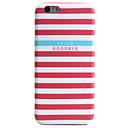 Rückseite IMD / Muster Stripes / Ripples TPU Weich Fall-Abdeckung für Apple iPhone 6s Plus/6 Plus / iPhone 6s/6