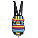Dog Harness Multicolor Dog Clothes Winter / Spring/Fall Stripe Casual/Daily /