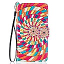 For Samsung Galaxy S5 S6 S7 S7 Edge Whirlpool PU Leather Wallet