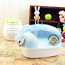 Rodents Chinchillas Cleaning Waterproof Plastic Random Color
