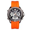 Men's Sport Watch Fashion Watch Digital Japanese QuartzLCD Compass Calendar Water Resistant/Water Proof Dual Time Zones Stopwatch