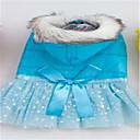 Hunde Kleider Hundekleidung Frühling/Herbst einfarbig Niedlich Gelb Blau