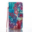 Für Geldbeutel Kreditkartenfächer mit Halterung Flipbare Hülle Muster Hülle Handyhülle für das ganze Handy Hülle Blume Hart PU - Leder für