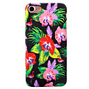 For Apple iPhone 7 7 Plus 6S 6 Plus Case Cover Flower Pattern Painted Relief Luminous Touch Skin Care PC Material Phone Case