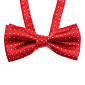 Dog / Cat Tie Red / Blue Spring/Fall Wedding