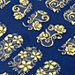 108 One Sheet Golden 3D Flower Nail Art Stickers Decals Decorations Hot Stamping