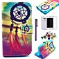 Dream Catcher Pattern PU Leather Case with Screen Protector,Stylus and Dust Plug for Samsung Galaxy Ace 4 G313H