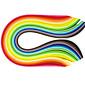400PCS 1CMx53CM Quilling Paper(40 Color x10 PCS/Color) DIY Craft Art Decoration