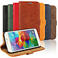 PU Wallet Following from Bark Grain Imports Full Body Cases for Samsung Galaxy S5 I9600(Assorted Color)
