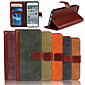 Genuine Matte Nubuck Cowhide PU Leather Flip Cover Wallet Card Slot Case with Stand for iPhone 5/5S (Assorted Colors)