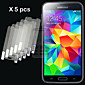 GYM 5pcs HD Screen Film for Samsung Galaxy S5 I9600